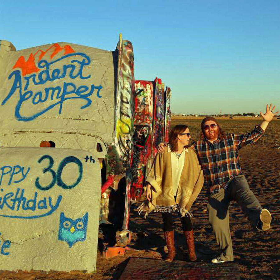 Cadillac ranch ardent campe