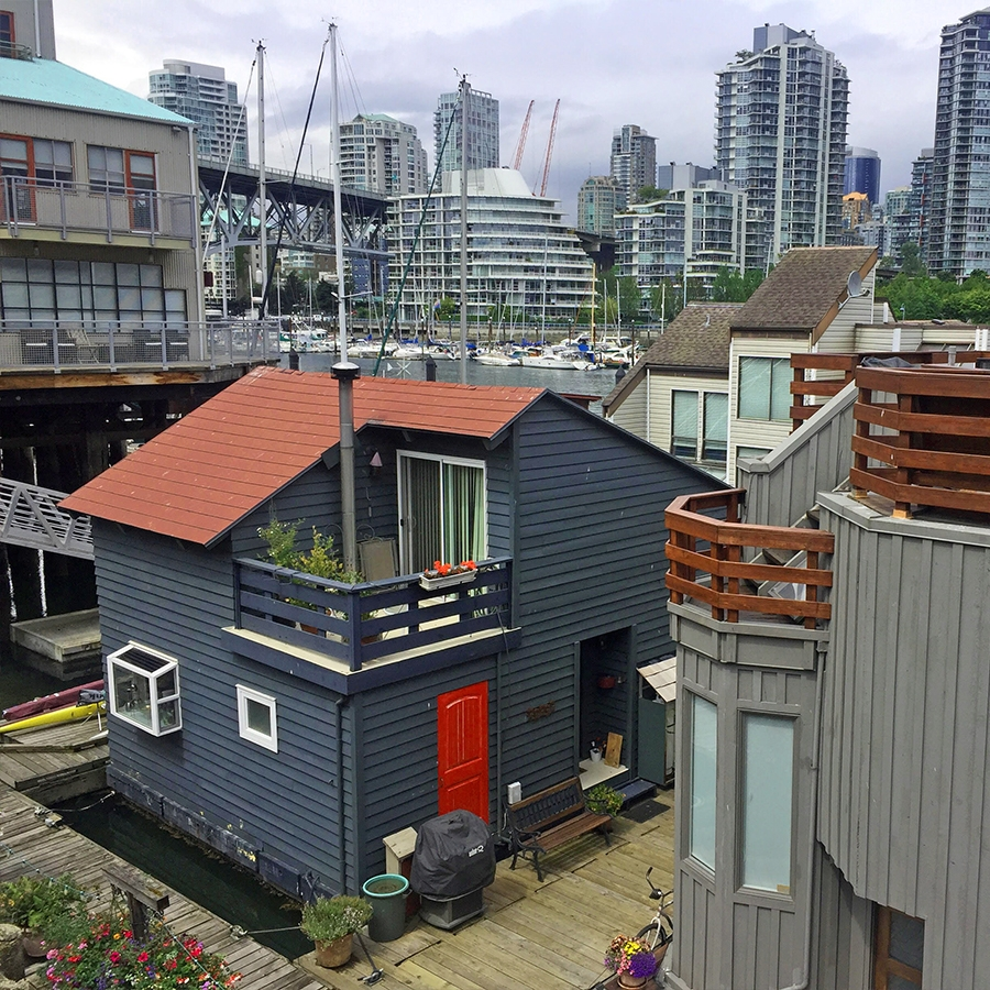 Houseboat at Granville Island