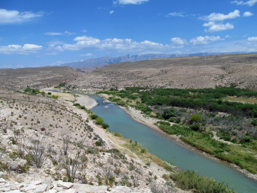 View of Rio Grande from the Hot Springs Trail