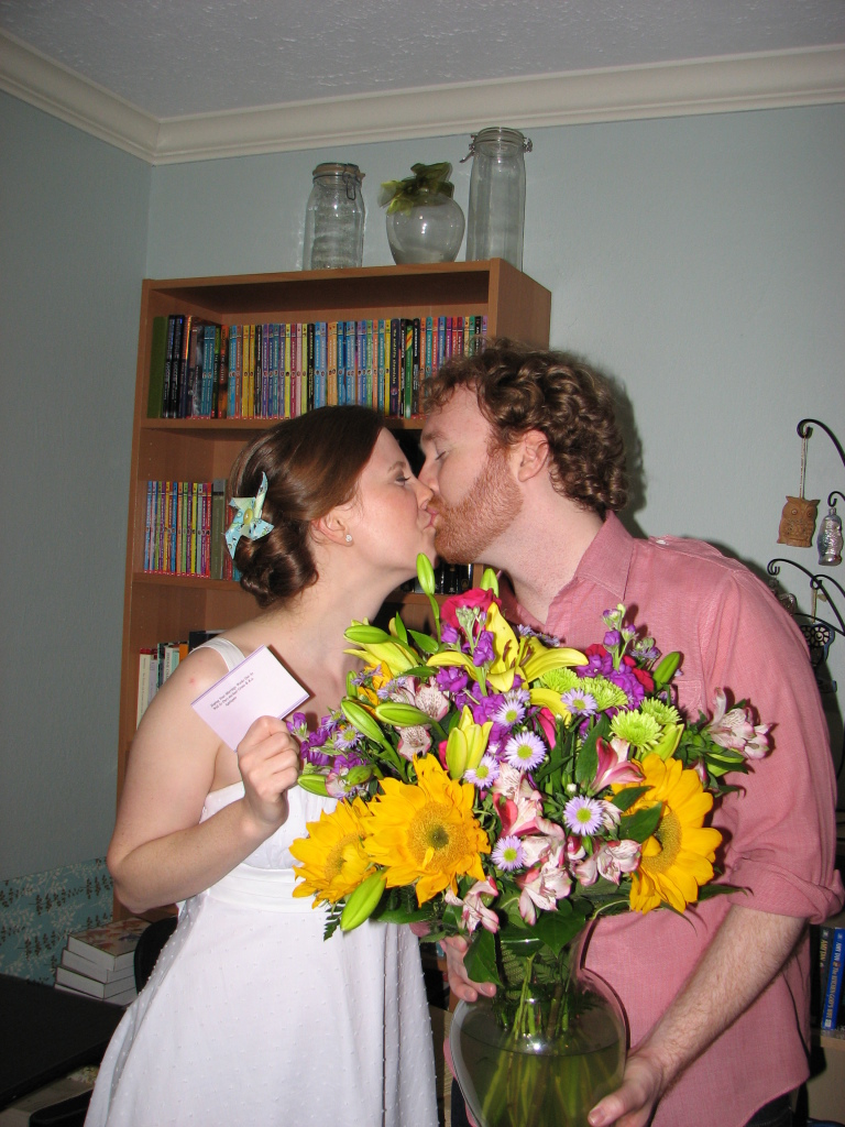 We had our wedding after party here