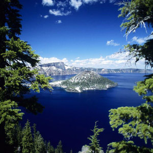 Crater Lake, OR; click for Pinterest credit