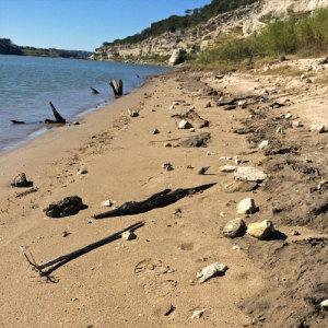 Lake Travis beach