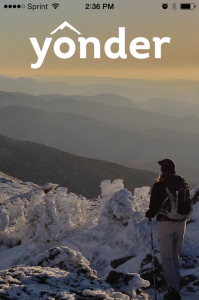 Yonder social media app for outdoorsy people