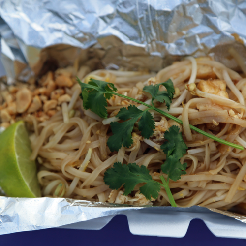 Tofu pad thai. Would eat again, most definitely.