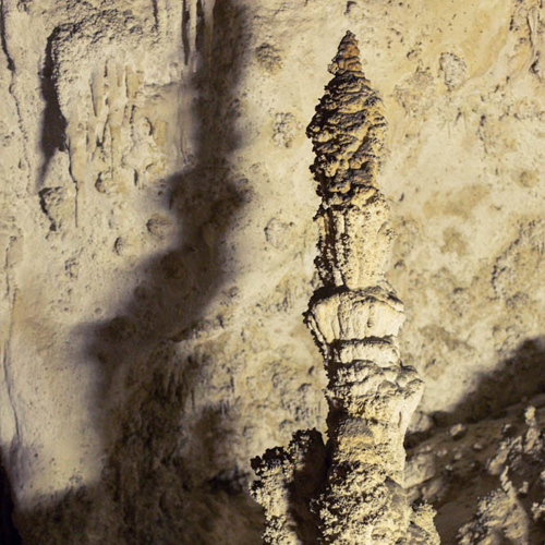 Stunning stalagmite formation