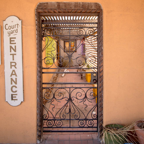 Gated courtyards give Old Town a mysterious feel