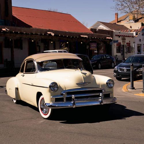 Vintage car on San Felipe Street