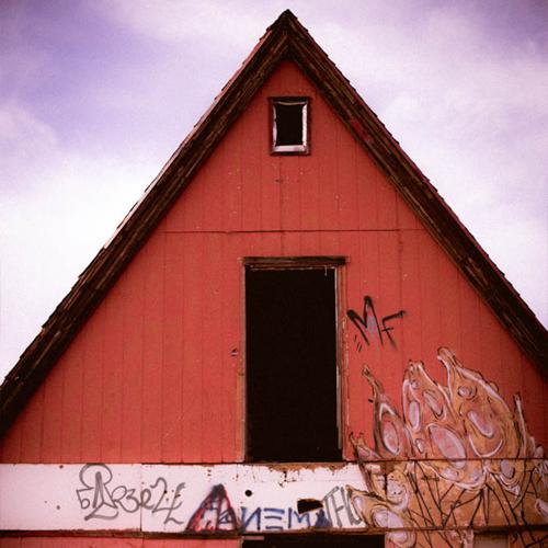 A-frame building