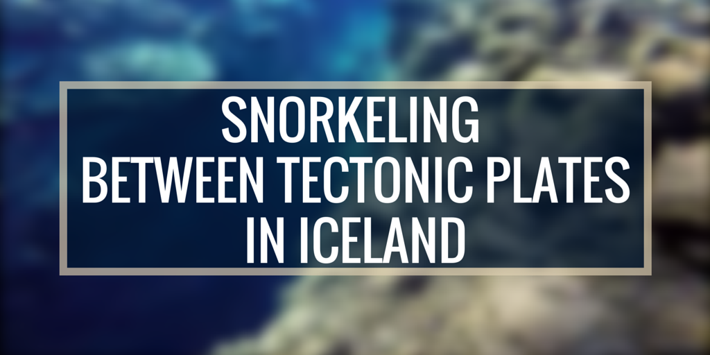Snorkeling Between Tectonic Plates in Iceland