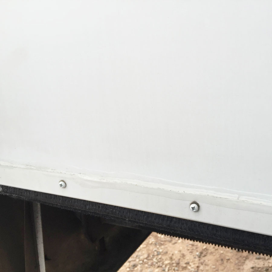 RV New Caulking Complete