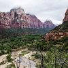 Thumb zion canyon