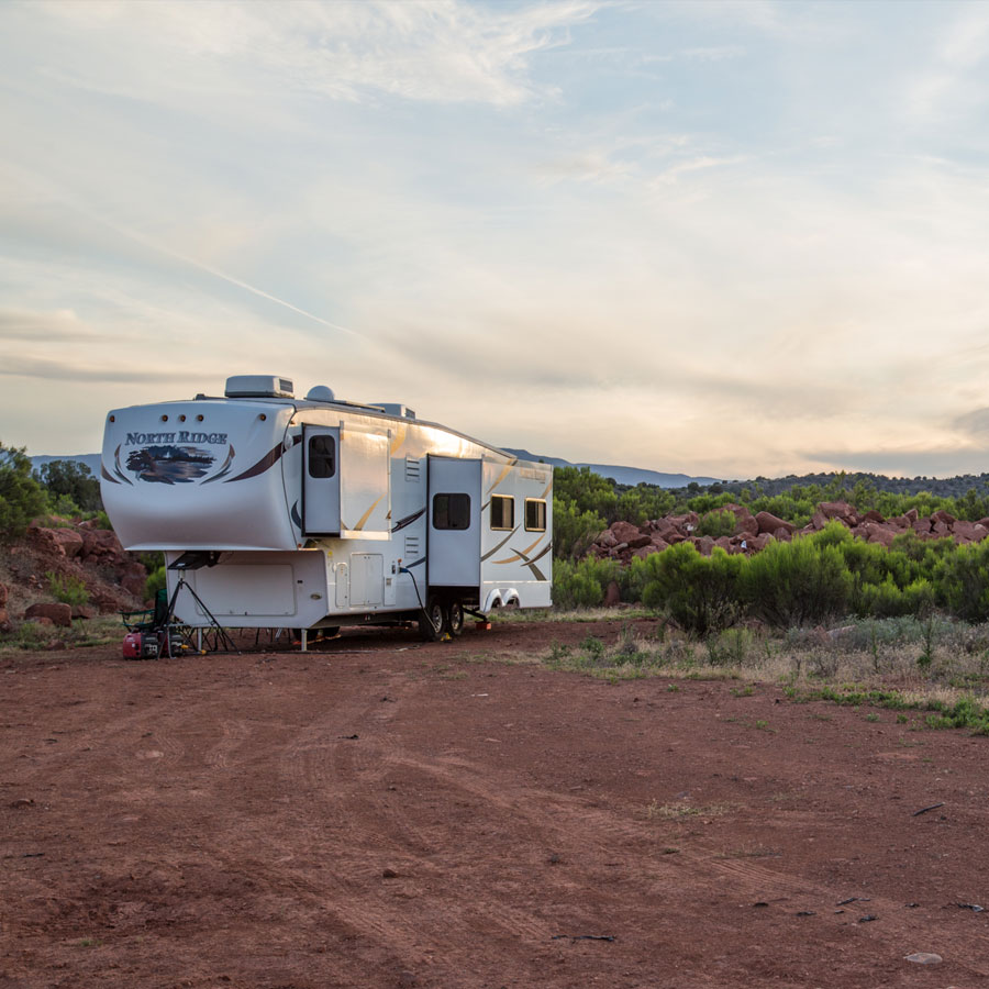Boondocking for the first time in Sedona, Arizona