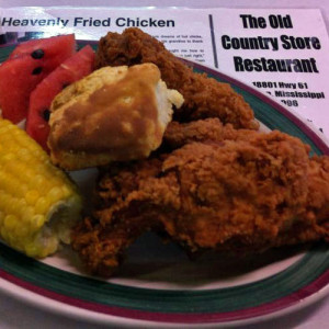 Old Country Store Fried Chicken in Lorman, Mississippi